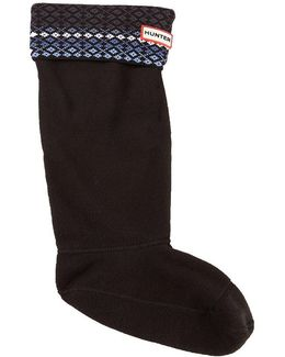 Original Tall Fairisle Cable Boot Socks