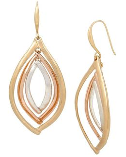 Marquise Orbital Drop Earrings