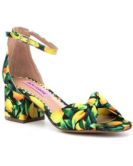 Ivee Lemon Sandals