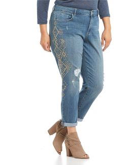 Plus Mika Best Friend Stud Jeans