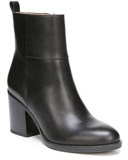 Owens Leather Booties
