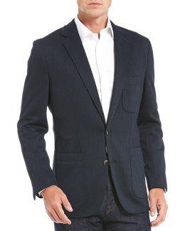 Texture Knit Blazer