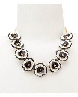 Rosy Posies Collar Necklace
