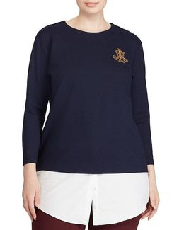 Plus Layered Bullion-crest Top