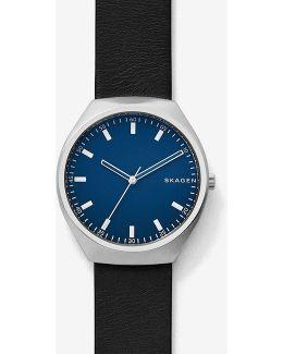Grenen Analog Leather-strap Watch