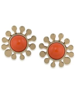 Indian Canyon Flower Stud Earrings
