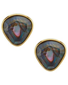 Hollywood Hills Mother-of-pearl Stud Earrings