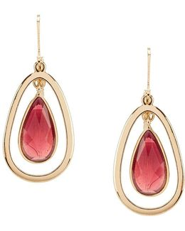 Orbital Teardrop Earrings