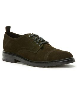 Men's Officer Suede Oxfords