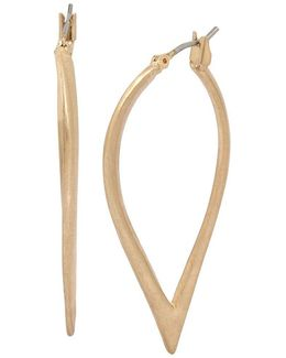 Sculptural Hoop Earrings