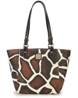 Serengeti Collection Janie Giraffe-print Tote
