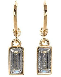 Museum Baguette Drop Earrings