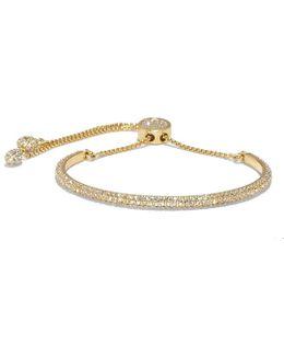 Pav Crystal Slider Bracelet