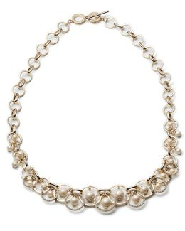 Majestic Pearl Shaky Necklace