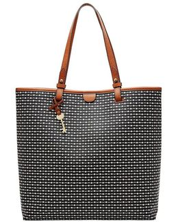 Rachel Striped North/south Tote