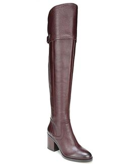 Ollie Leather Over The Knee Boots