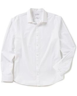 Infinite Cool Bi-stretch Long-sleeve Woven Shirt