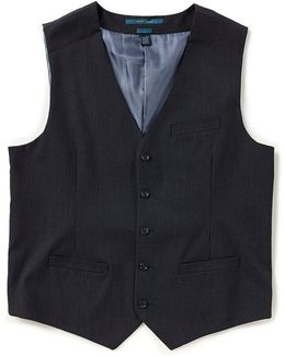 Slim-fit Stripe Vest