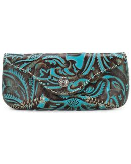 Tooled Turquoise Collection Ardenza Glasses Case