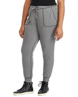 Plus Stretch Drawcord Jogger