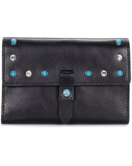 Turquoise Stud Collection Colli Wallet