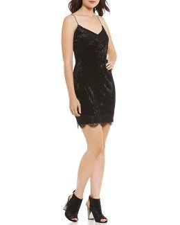 Nada Velvet Slip Dress