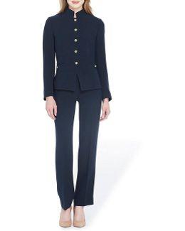 Petite Military Pant Suit