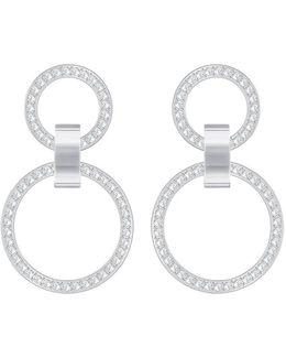 Hollow Double-drop Earrings