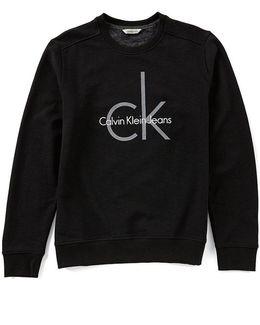 Jeans Ck Crew Fleece Sweatshirt