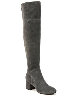 Sarto By Korinne Suede Over The Knee Boots