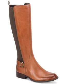 Campbell Tall Leather Boots