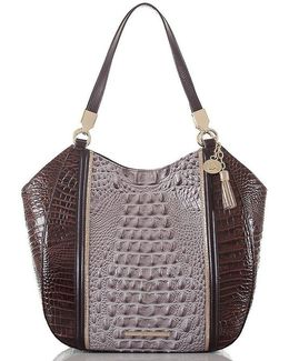Greco Collection Marianna Tasseled Tote
