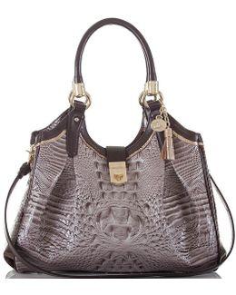 Greco Collection Elisa Tasseled Hobo Bag