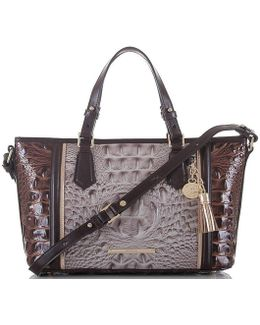 Greco Collection Mini Asher Tasseled Tote