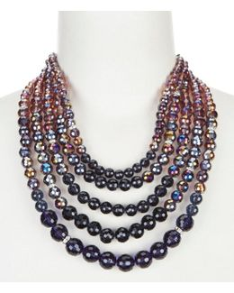 Multi-strand Statement Necklace