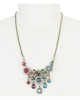 Multi-stone Statement Necklace