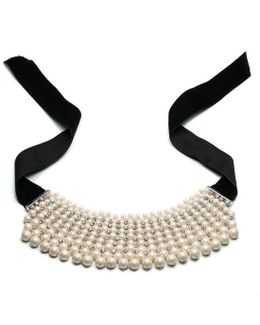 Pearl Manor Faux-pearl Choker Necklace