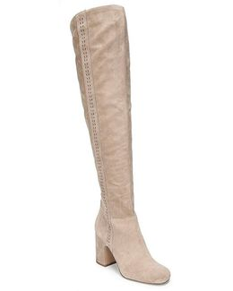 Sarto By Laurel Suede Over The Knee Boots
