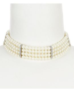 Pearl Manor Multi-row Choker Necklace