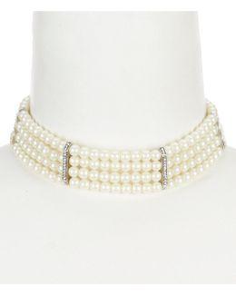 Pearl Manor Multi-row Choker Necklace