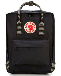 The Classic Kanken Striped Backpack