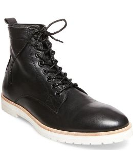Gq + Men's Andre Plain Toe Boots