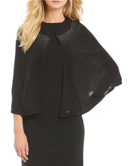 Ombr Studded Capelet