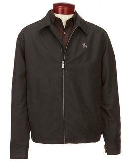 Water Repellent Microfiber Golf Jacket