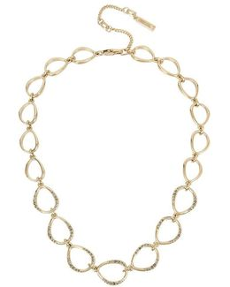 Open Link Collar Necklace
