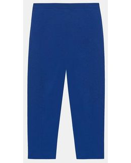 Cropped Pant With Side Zip