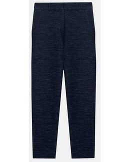 Pure Cropped Trouser Knit Pant