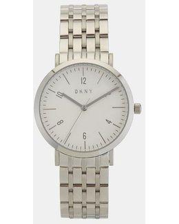 Minetta Stainless Steel Silver-tone Watch