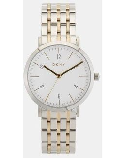 Minetta Stainless Steel And Gold-tone Watch
