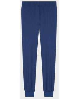 Pure Pull On Pant With Rib Trims